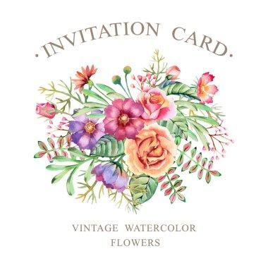 Watercolor Flowers