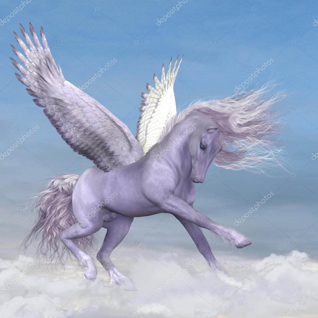 Pegasus among the Clouds