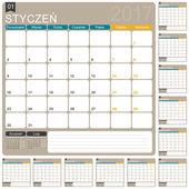 Polský kalendář 2017