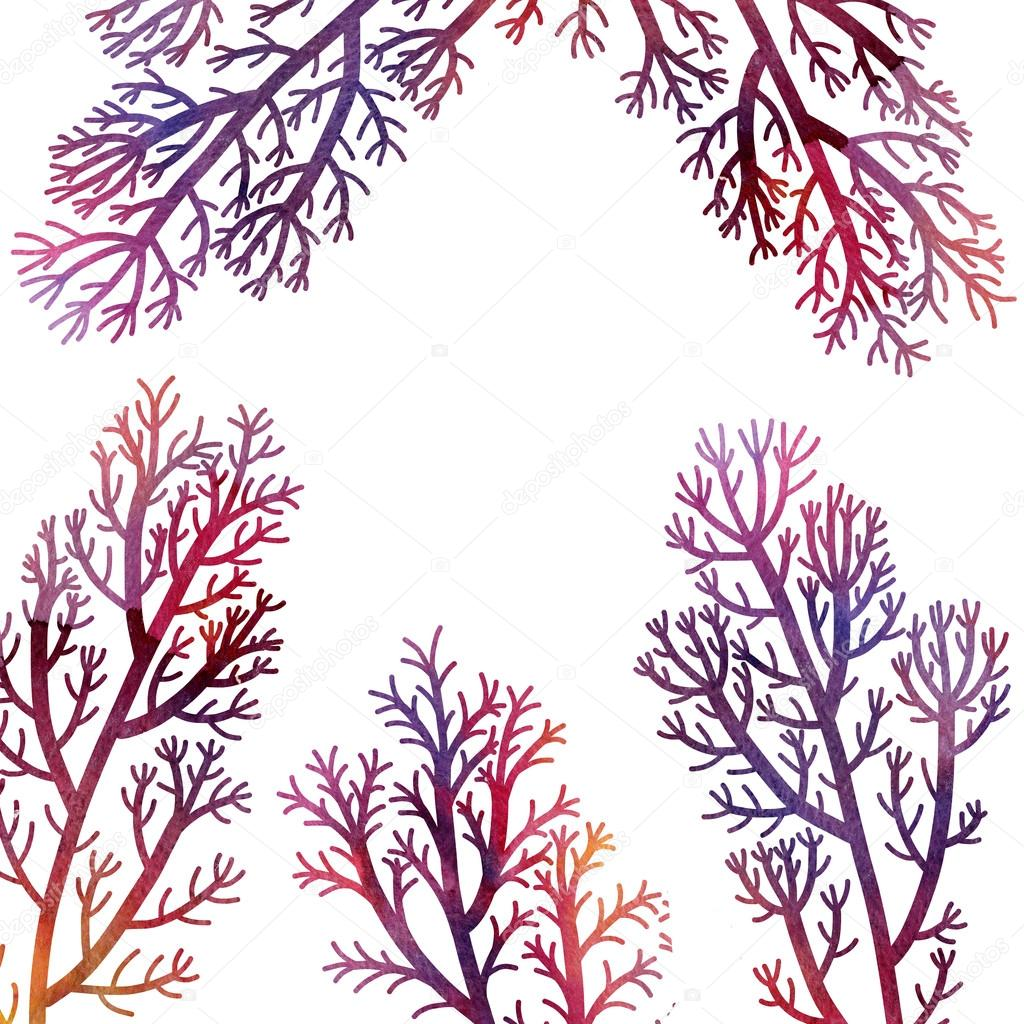 floral composition plants and leaves
