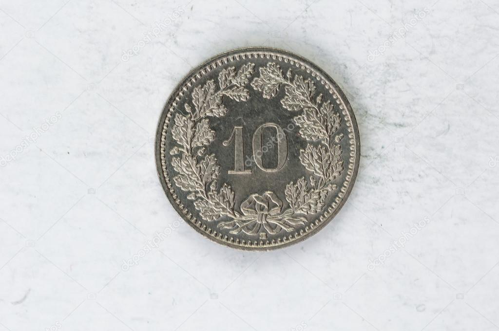 piece de monnaie helvetica