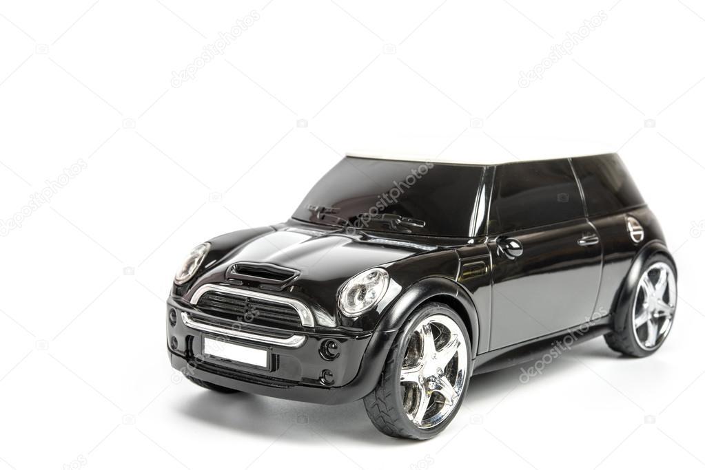 Mini Cooper Toy Car On White Background Stock Photo C Embasy