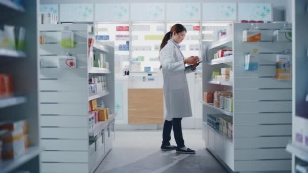 Pharmacist working in Pharmacy