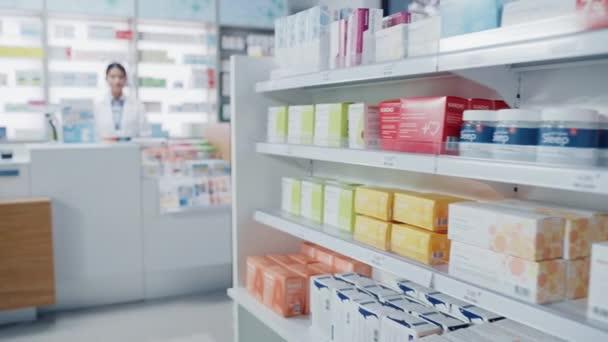 Apothekenmedizin-Regal
