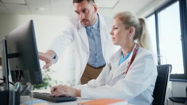 Doctor Nurse in Office