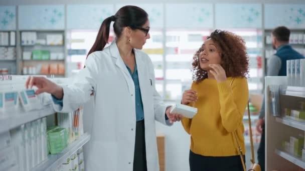 Pharmacist and Customer Pharmacy