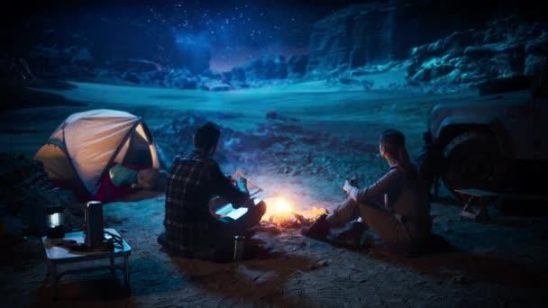Couple Camp Night