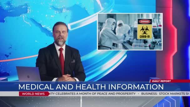 News Studio hlasatel Ancor mluví o Covid Vaccine Research