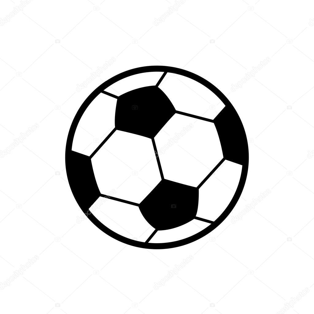 Fussball Symbol Stockvektor C Tackgalich 123918566