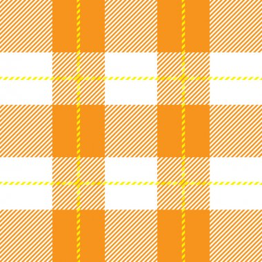 orange seamless tartan plaid
