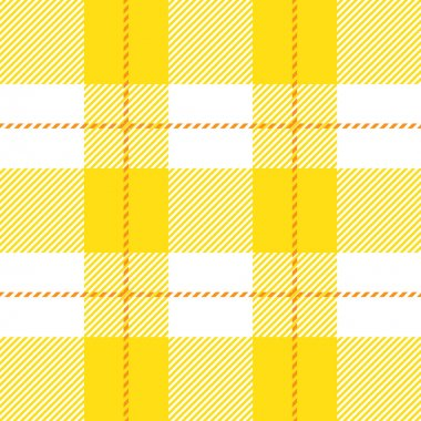 yellow seamless tartan plaid