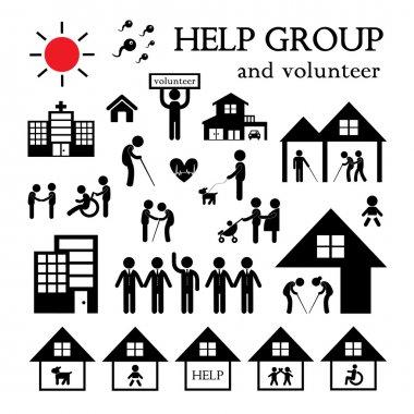 Volunteer for non profit social service