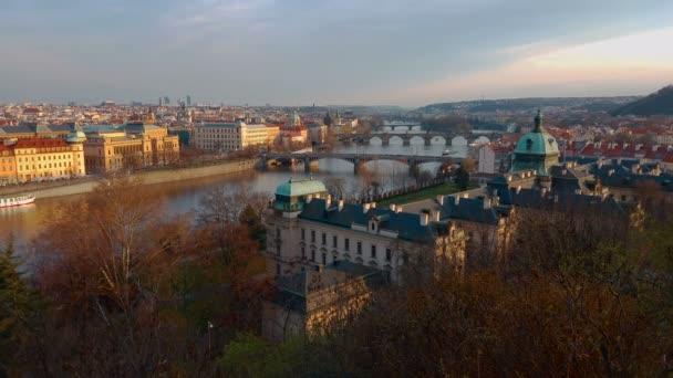 Pohled nad Prague city