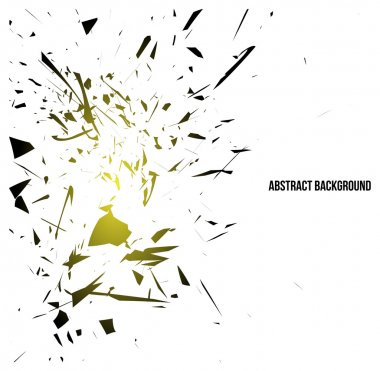 Abstract destroy lines background