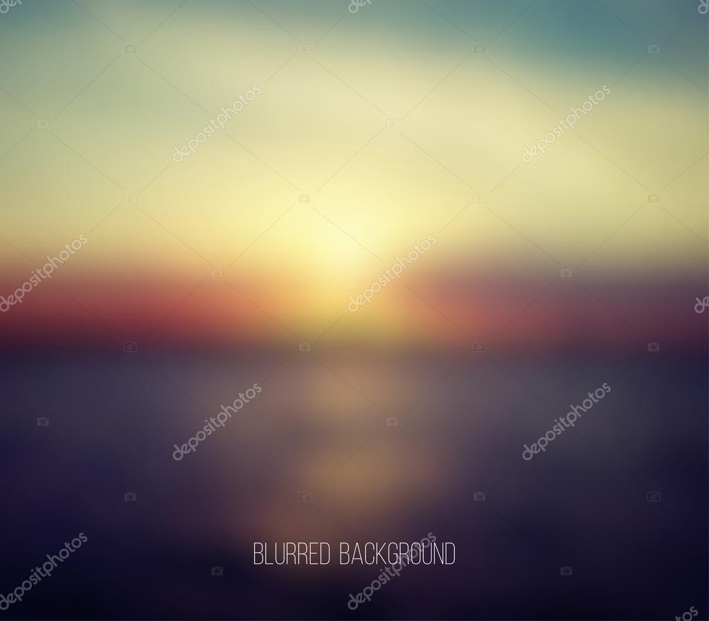 Abstract blur unfocused background