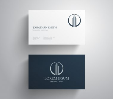 Creative business visit cards