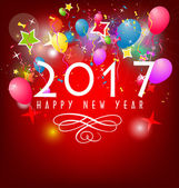 Šťastný nový rok 2017 pozadí