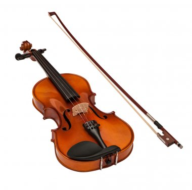 Classical modern Violin with fiddlestick