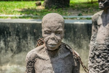 Slavery Memorial in Stone Town, Zanzibar