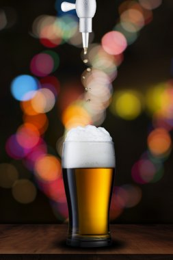 Beer Pour on to glass