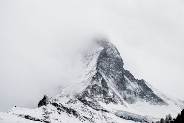 Matterhorn peak  in snow
