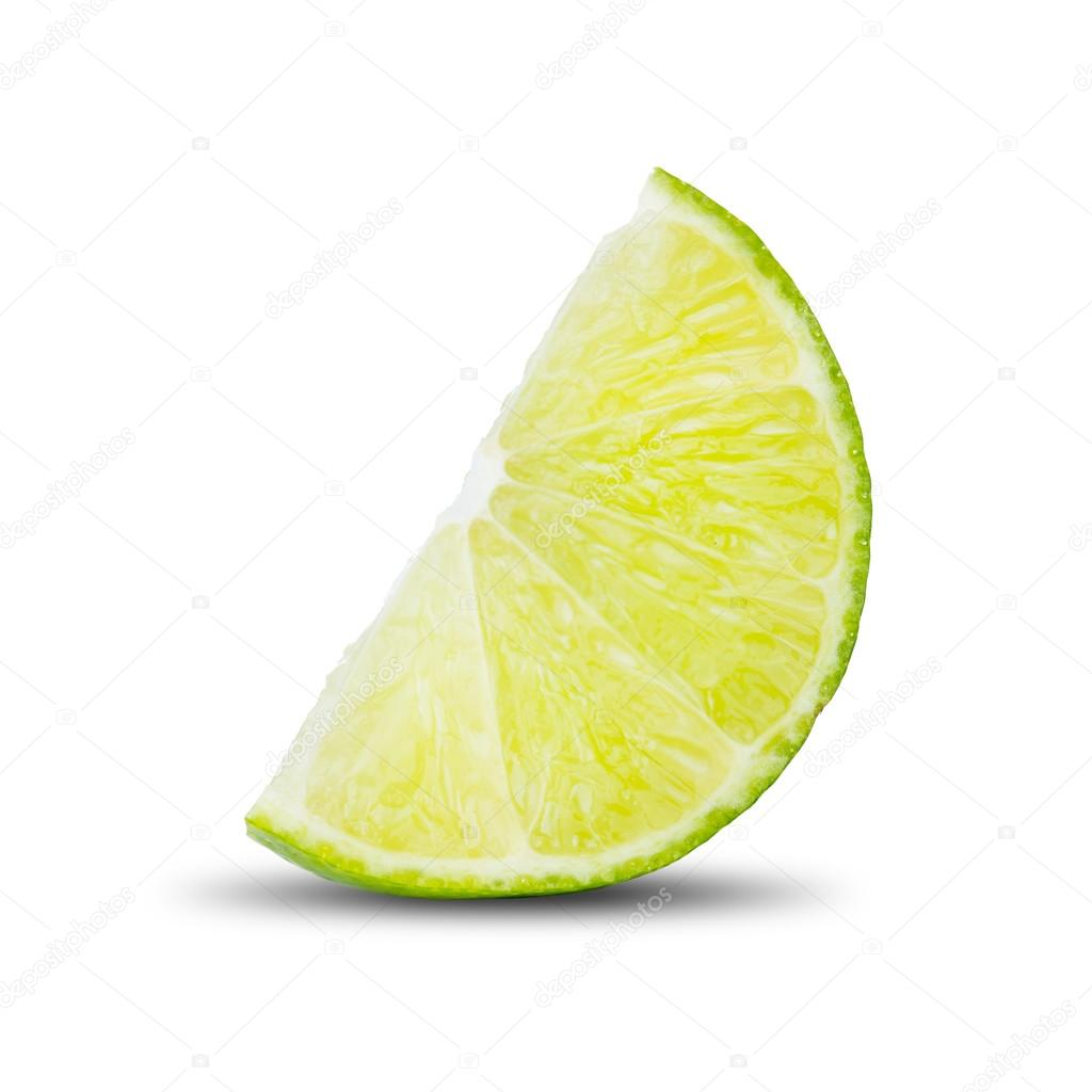 Fresh Lobule of Lime — Stock Photo © somchaij #95316644