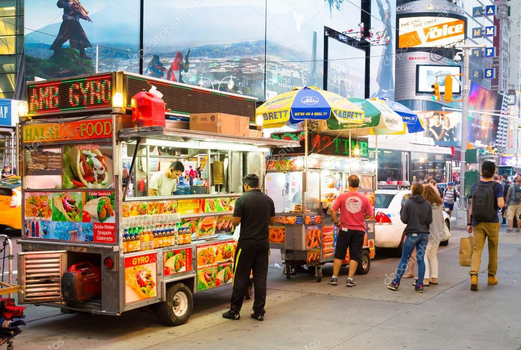 Food Trucks In New York City Stock Editorial Photo Macinlondon