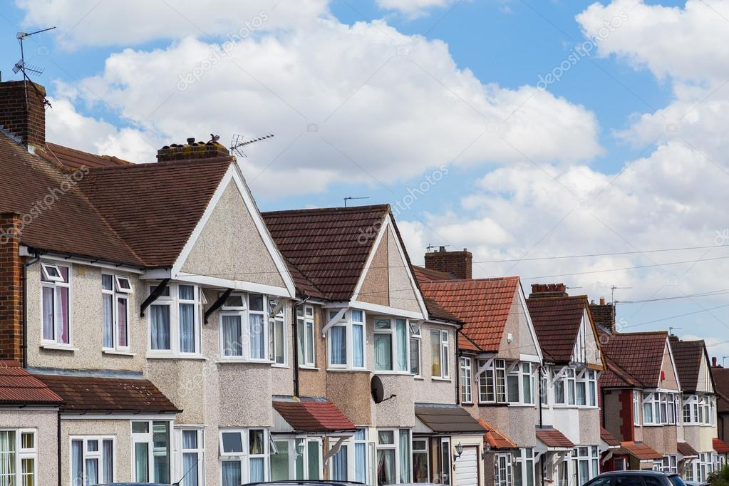 Terras huizen in londen u2013 redactionele stockfoto © macinlondon #79620818