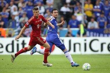 2012 Champions League Final Chelsea Training