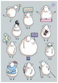 Funny roztomilé ovce