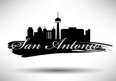 San Antonio City Skyline Design
