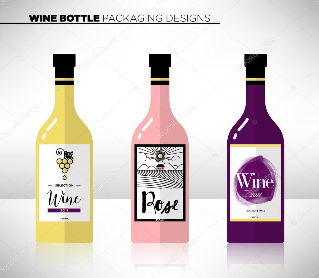 ワインのラベル テンプレート — ...
