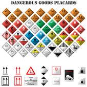nebezpečné zboží štítky