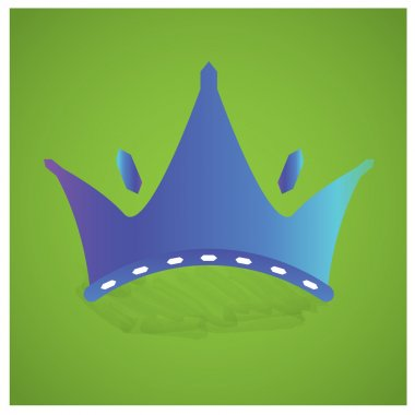 Isolated Royal crown
