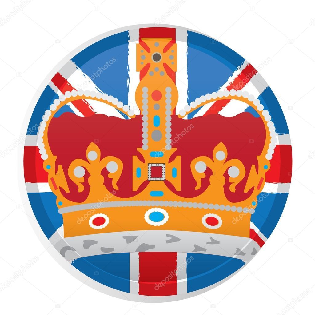 Illustration conceptuelle de l angleterre image for Pouf avec drapeau anglais