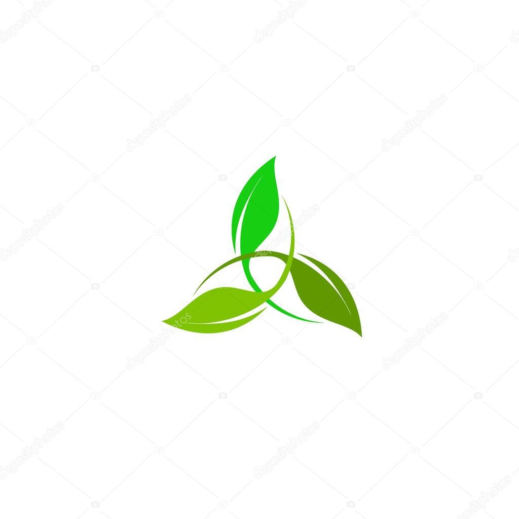 d237a de la energ237a del viento logo abstracto verde logo