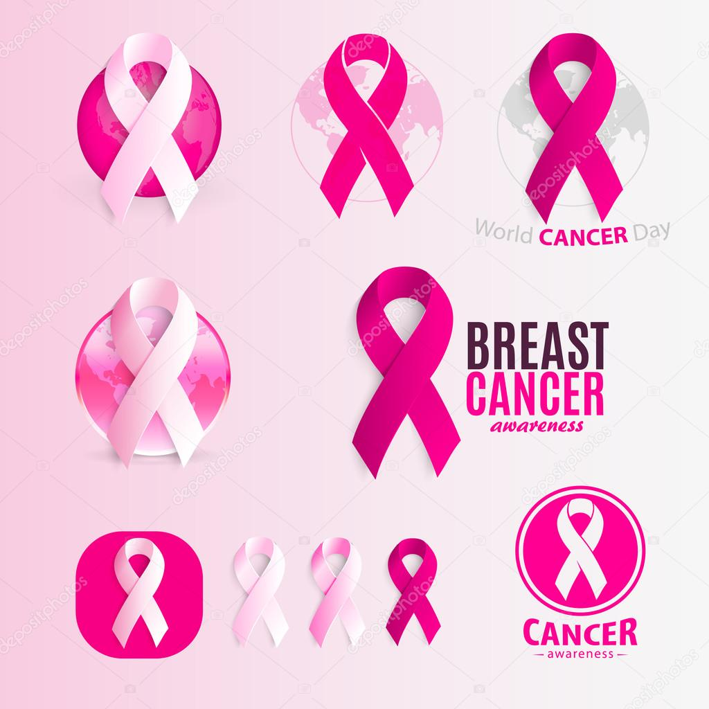 Isolated pink and white color ribbons logo set against cancer against cancer logotype collection stop disease symbol international worldwide breast cancer week medical sign vector illustration vector by artyway biocorpaavc Images