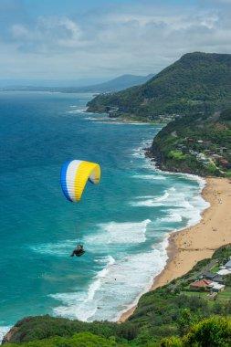Wollongong beach in Australia