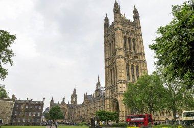 Walking around London