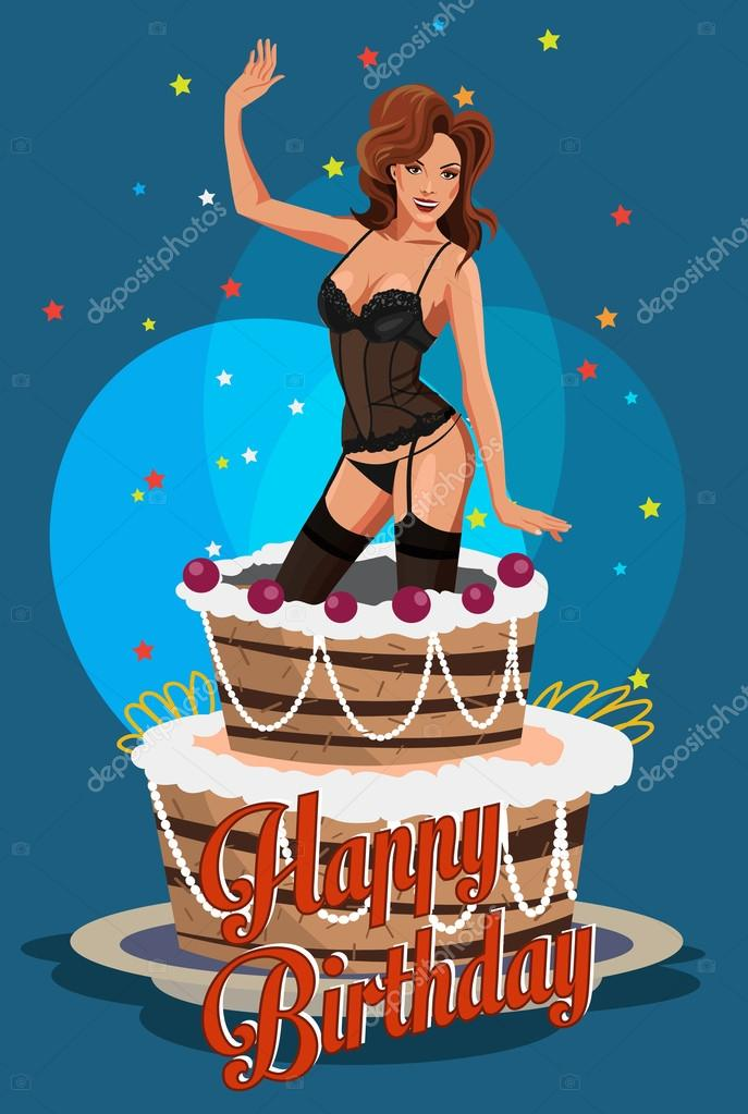happy birthday pictures naked woman