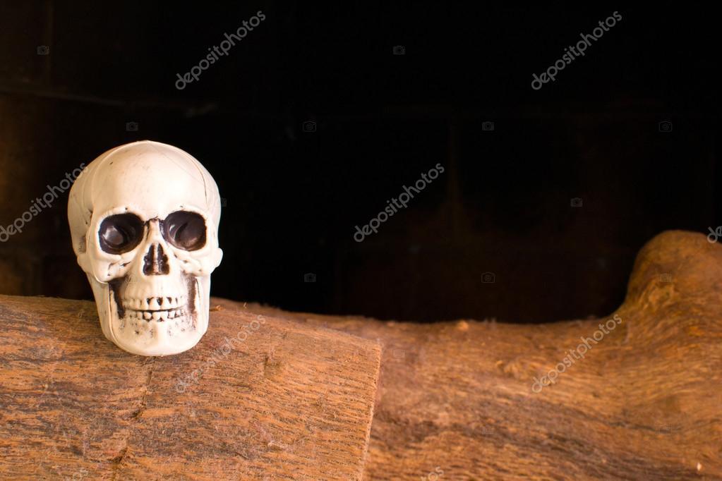 calaveras en una chimenea — Fotos de Stock © etorres69 #54796679