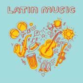 Salsa Musik und Tanz