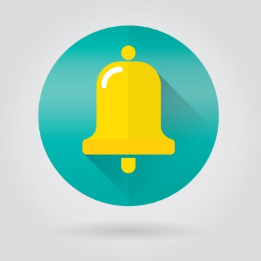 Notifications call icon with bell