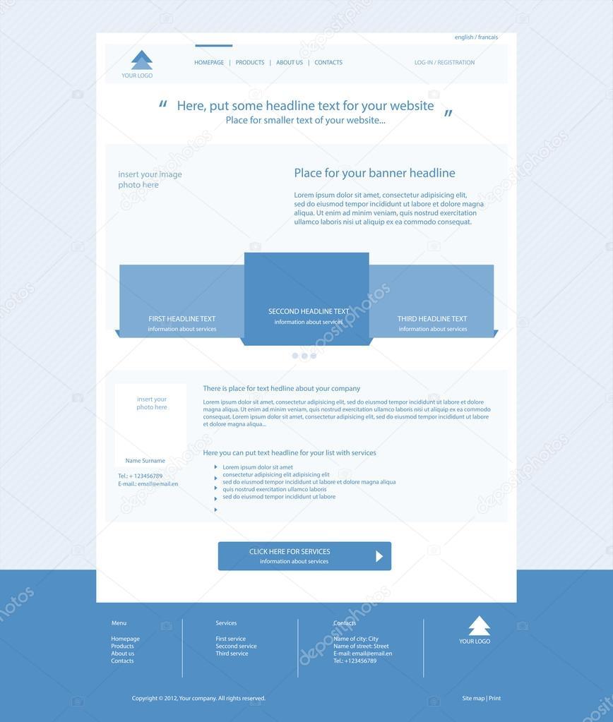 Ausgezeichnet Blaue Web Vorlagen Galerie - Entry Level Resume ...
