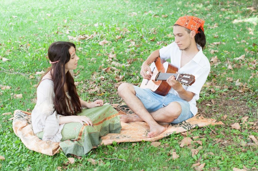 Randění s hippie mládě