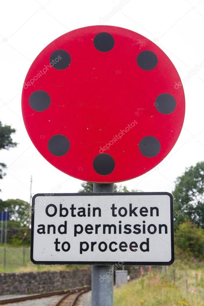 Token sign