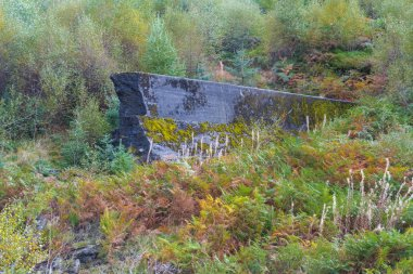 Nant-y-Gro Dam, blown up during war for testing of dambusters bo