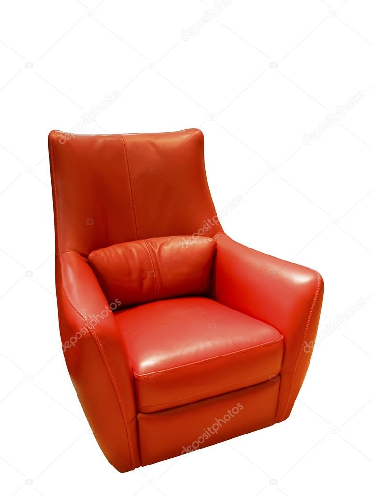Rode Lederen Fauteuil.Rood Lederen Fauteuil Stockfoto C Modustollens 88592850