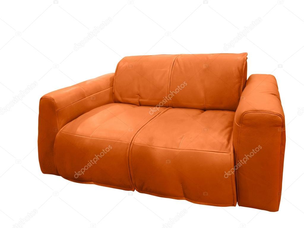Divano Pelle Arancione : Divano moderno in pelle u foto stock modustollens