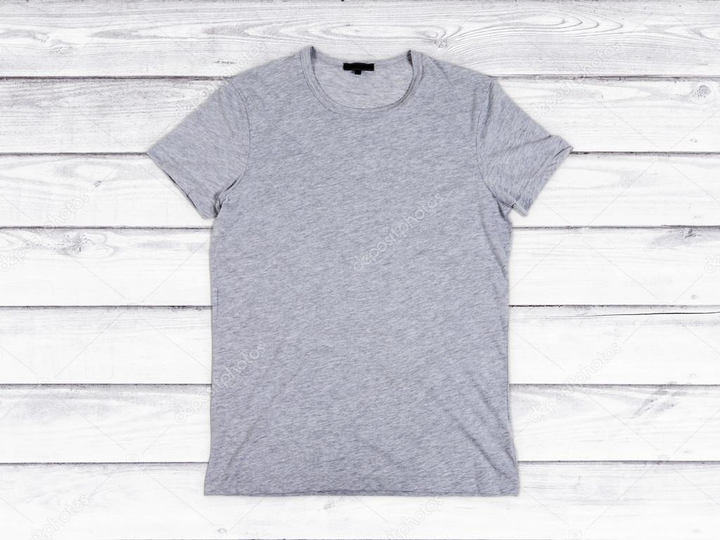 blank gray t shirt mock up stock photo peshkov 82207292